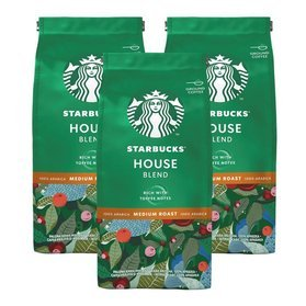 Starbucks House Blend 200g kawa mielona x 3