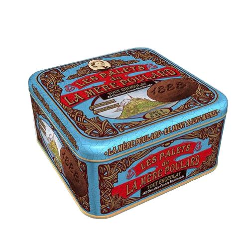 La Mere Poulard Les Palets de Tout Chocolate - Francuskie ciastka puszka 250g