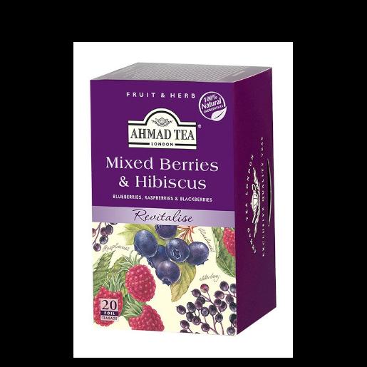 Ahmad Mixed Berries Hibiscus - 20 saszetek