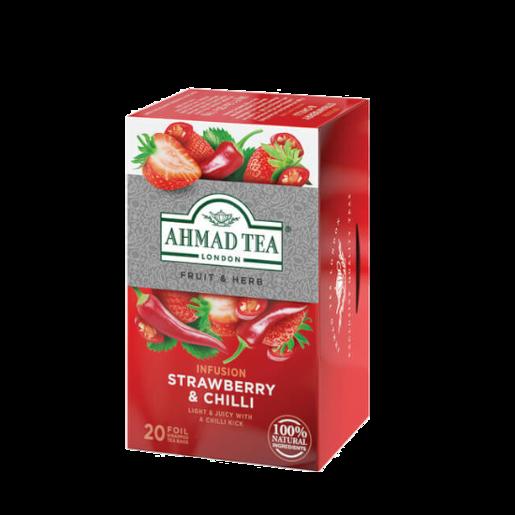 Ahmad Strawberry & Chilli 20 saszetek