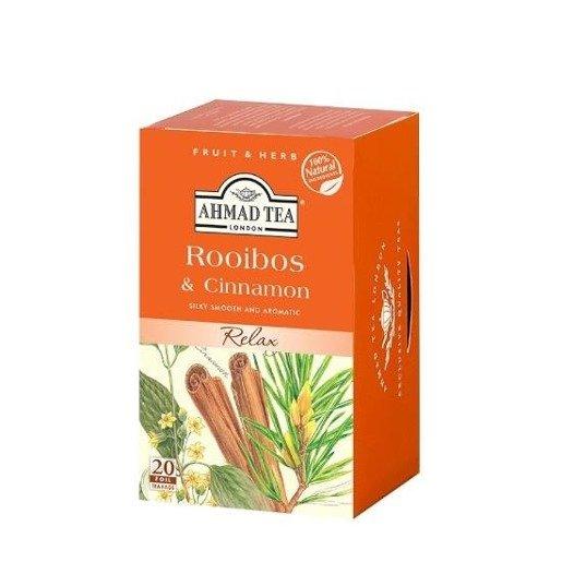 Ahmad Tea Rooibos & Cinnamon - 20 saszetek herbaty