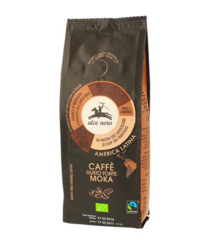Alce Nero Caffe Gusto Forte Moka kawa mielona 250g
