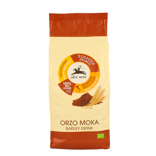 Alce Nero Orzo Moka - włoska kawa zbożowa 500g