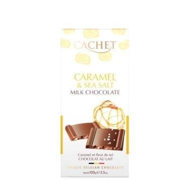 Cachet - Czekolada Caramel & Sea Salt 100g