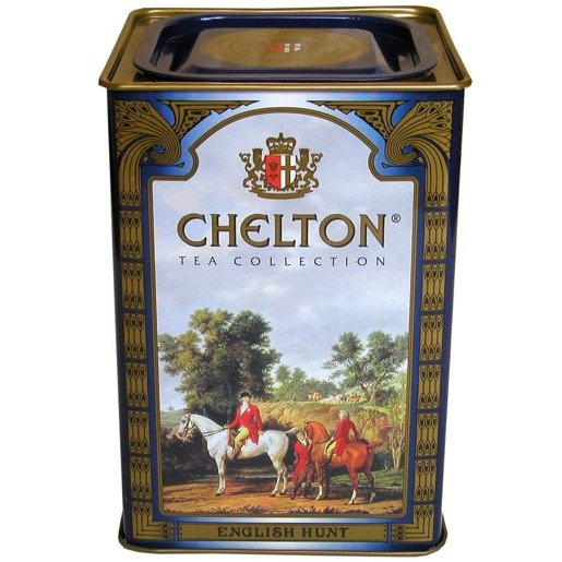 Chelton English Hunt 400g - herbata liściasta puszka