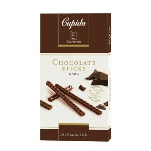Cupido Chocolate Sticks Dark czekoladowe paluszki