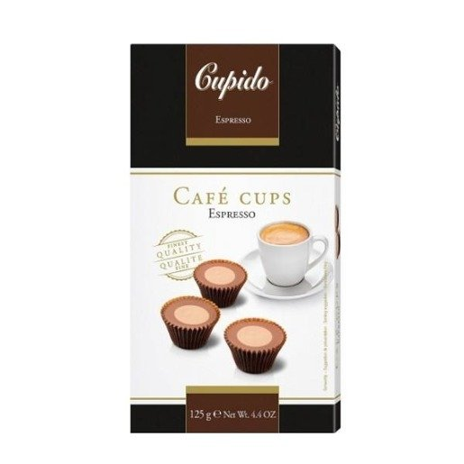 Cupido czekoladki o smaku kawy espresso 125g