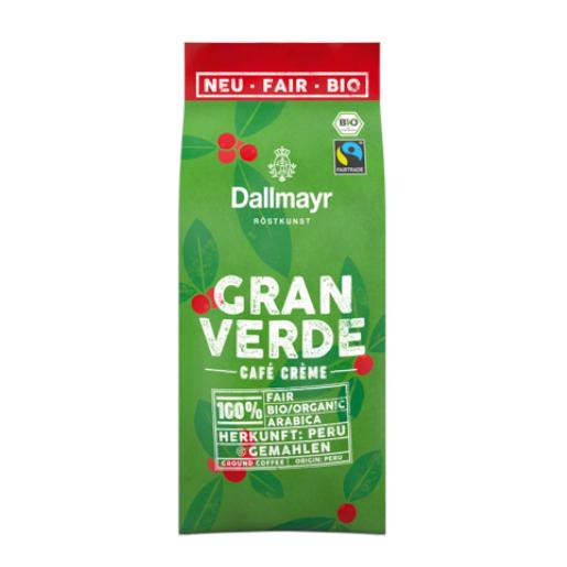 Dallmayr Gran Verde 220g kawa ziarnista  BIO