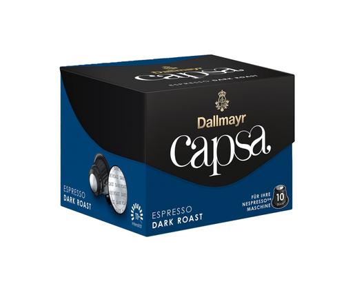 Dallmayr Nespresso Espresso Dark Roast 10 kapsułek
