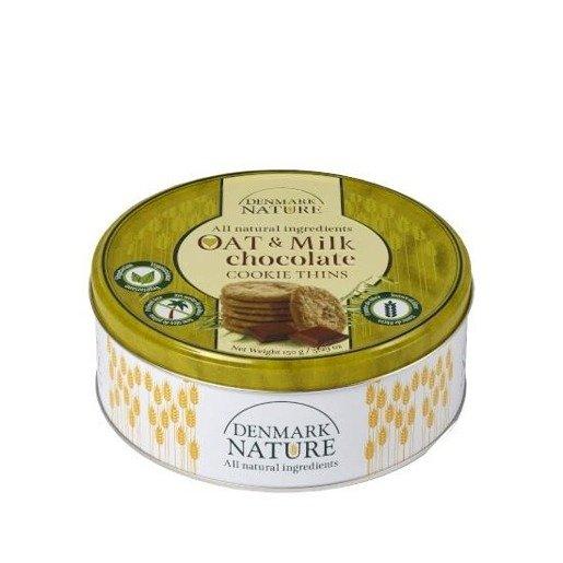 Denmark Nature - Oat & Milk chocolate duńskie ciasteczka 150g
