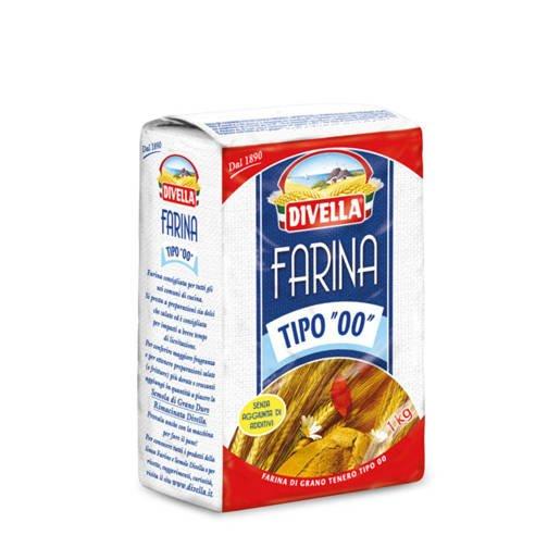 Divella Farina typ 00 włoska mąka 1kg