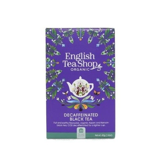 English Tea Shop Decaffeinated Black Tea - 20 saszetek