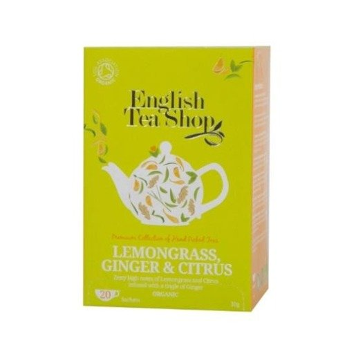 English Tea Shop Lemongrass Citrus and Ginger - 20 saszetek