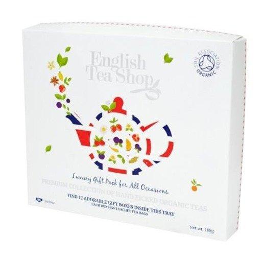English Tea Shop Luxury Organic Tea Gift - 96 saszetek