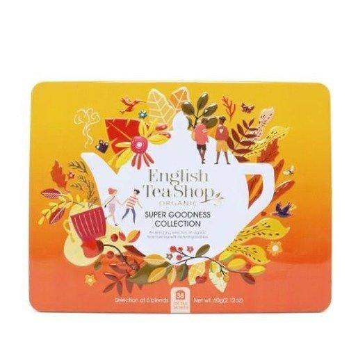 English Tea Shop Super Goodness Collection - 36 saszetek w metalowej puszce