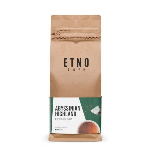 Etno Abyssinian Highland kawa ziarnista 1kg