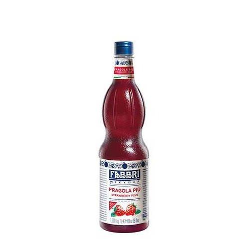 FABBRI Fragola Piu włoski syrop truskawkowy z miąższem 1l