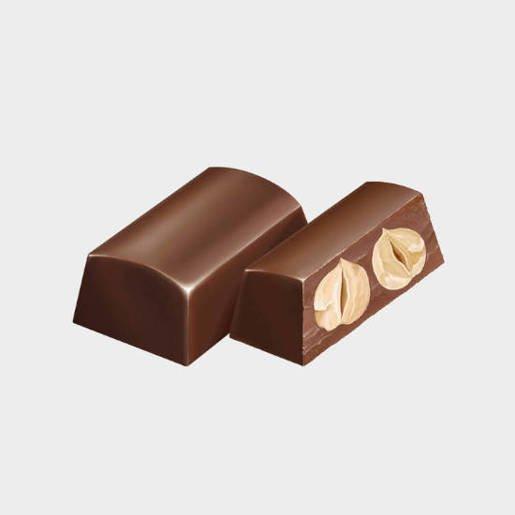 Feletti Mini Nocciolato Gianduia - czekoladki z orzechami 130g