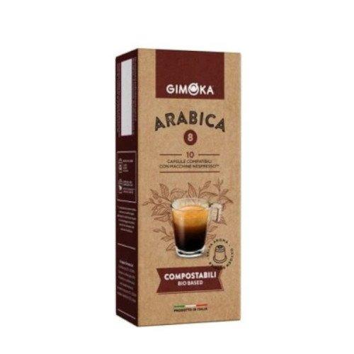 Gimoka Arabika BIO Nespresso 10 kapsułek