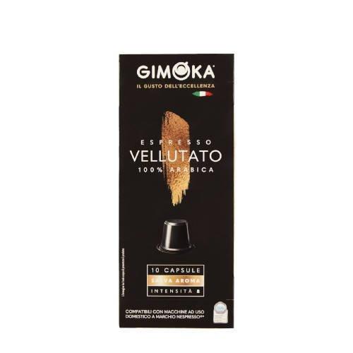 Gimoka Vellutato Arabika 10 kapsułek Nespresso x10