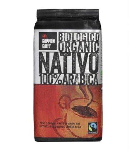 Goppion Caffe Nativo 1kg kawa ziarnista