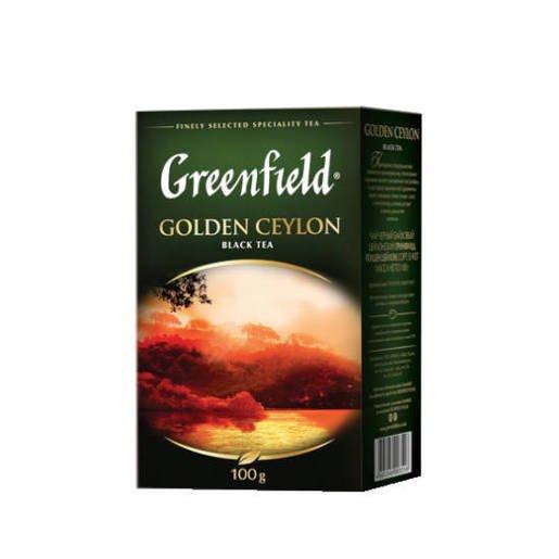 Greenfield Golden Ceylon 100g czarna herbata