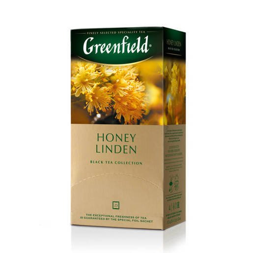 Greenfield Honey Linden - 25 torebek