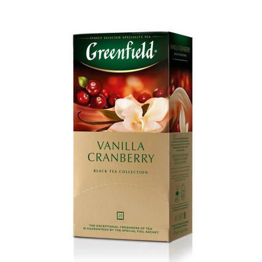 Greenfield Vanilla Cranberry - 25 torebek
