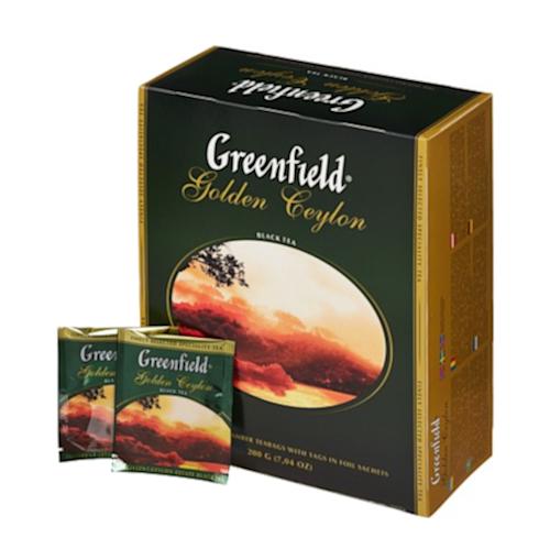 Herbata Greenfield Golden Ceylon - 100 kopert