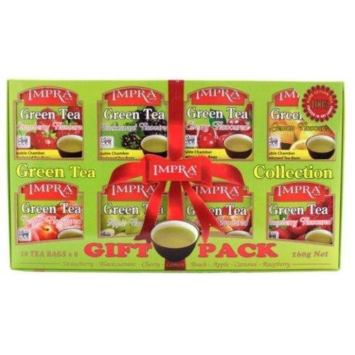 Impra Gift Pack Green 80x2g - zestaw herbat