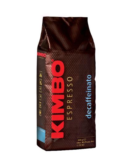 Kimbo Decaffeinato 0,5 kg bezkofeinowa ziarnista