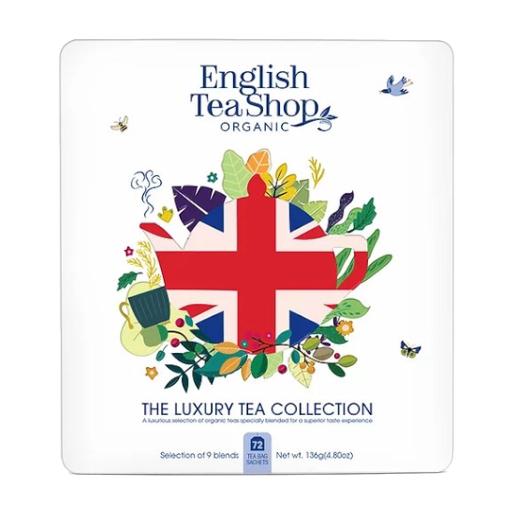 Kolekcja herbat Union Jack Tea - 72 saszetki