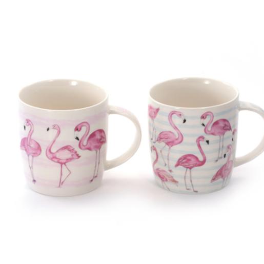 Kubek z flamingami o pojemności Ada B 250 ml