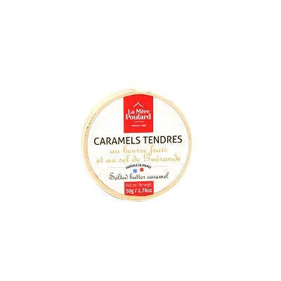 La Mere Poulard Caramels Tendres Mini - francuskie karmelki z masła 50g