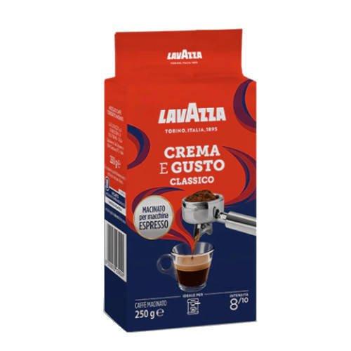 Lavazza Espresso Crema e Gusto 250g kawa mielona