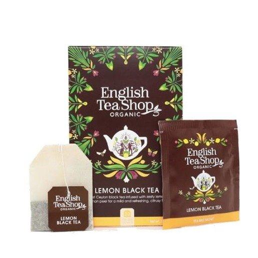 Lemon Black Tea - 20 saszetek