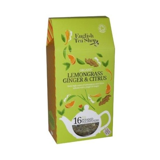 Lemongrass Ginger Citrus - 16 piramidek