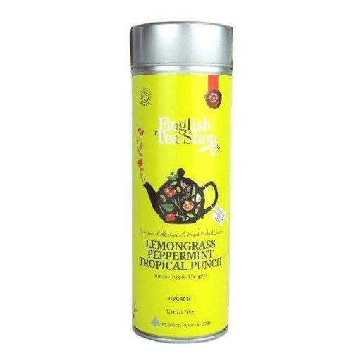 Lemongrass Peppermint Tropical Punch - 15 piramidek