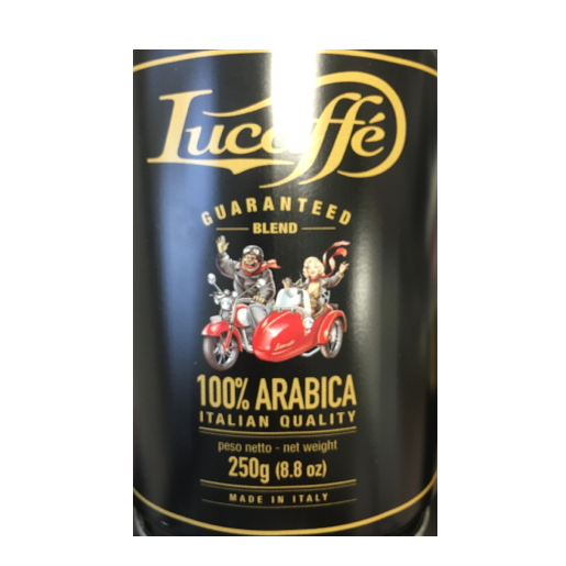 Lucaffe Mr.Exclusive 250g kawa ziarnista puszka