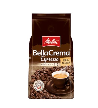 Melitta BellaCrema Espresso 1kg kawa ziarnista x 8