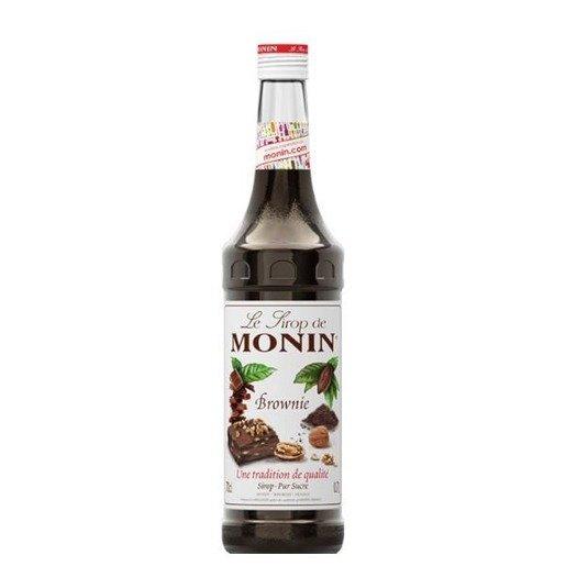 Monin Brownie 700 ml - syrop o smaku Brownie