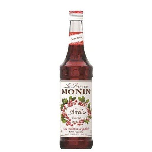 Monin Cranberry 0,7 l - syrop żurawinowy