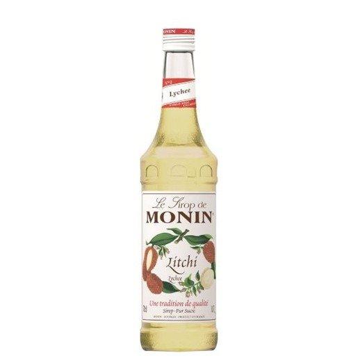 Monin Lychee 0,7 l - syrop o smaku liczi