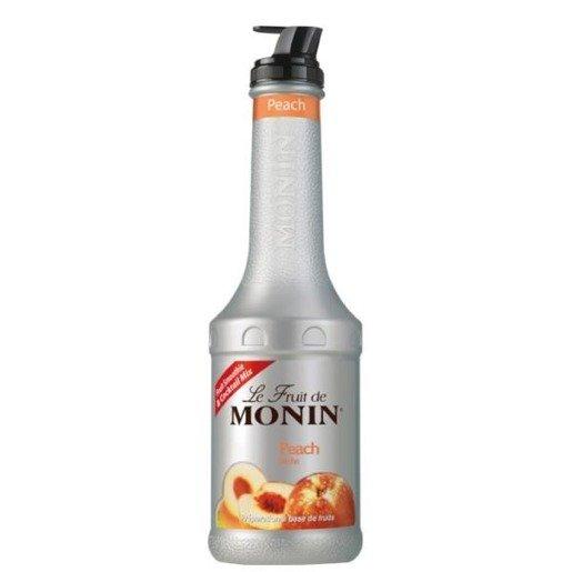 Monin Puree Peach 1L - brzoskwinia
