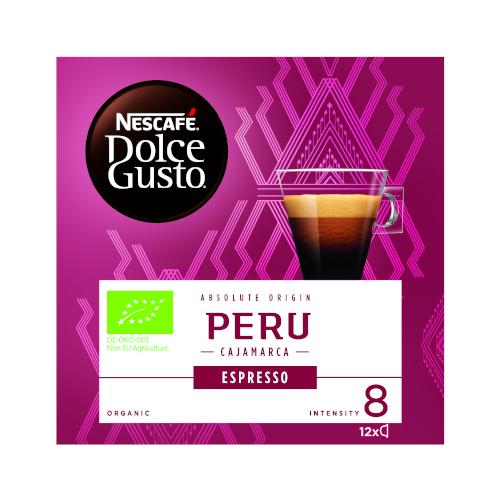 Nescafe Dolce Gusto Espresso Peru BIO 12 kapsułek