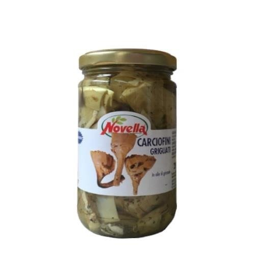 Novella Carciofi Grigliati -  314 ml karczochy grillowane w oleju