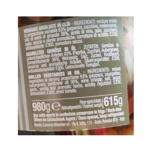 Novella Grigliato Misto - 1062 ml mieszanka grillowana