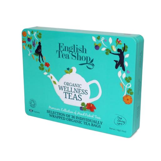 Organic Wellness Teas  - 36 saszetek z herbatą