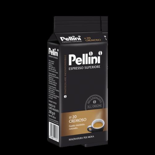 Pellini Espresso n'20 Cremoso 250g kawa mielona