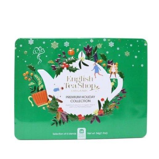 Premium Holiday Collection - zielony zestaw świąteczny 36 saszetek